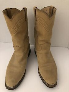 Pre-owned Womens Justin Tekno Ropers Size 8