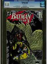 BATMAN #439 CGC 9.8 WHITE PAGES NIGHTWING GEORGE PEREZ ART DC COMICS BLUE LABEL