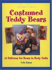 BOOK - CRAFT - Costumed TEDDY BEARS 14 Patterns 25% OFF