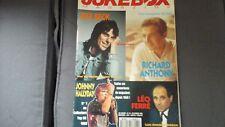 JUKEBOX MAGAZINE n°74- JEFF BECK - JOHNNY HALLYDAY - LEO FERRE - Comme NEUF