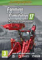 Farming Simulator 17 Platinum Expansion (Espansione) PC IT IMPORT FOCUS