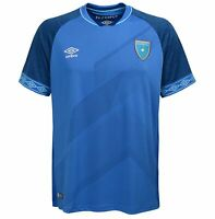Umbro Guatemala 2019-20 Away Jersey Blue