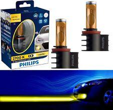 Philips X-Treme Ultinon LED Kit 2700K Yellow H8 Light Two Bulbs DRL Cornering