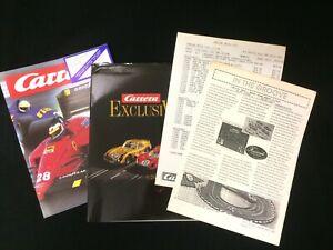 Carrera Slot Cars - Dealers Shop Catalogue & list package 1991 - good condition