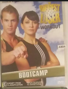 The Biggest Loser Workout : Bootcamp DVD R4 Australian release