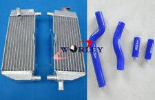 Aluminum radiator & hose for YAMAHA YZ250 YZ 250 1996 1997 1998 1999 2000 2001