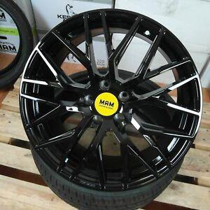 4x Alu Felgen MAM RS4 18 Zoll ET30 BP Audi A4 A5 A6 A7 A8 Q2 Q3 Q5 S4 S5 S6 SQ2