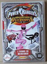 Power rangers operation overdrive - l'uomo di mercurio volume 4 - dvd - exa