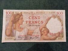 1 billet 100Francs Sully 1940