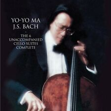 Bach: Unaccompanied Cello Suites (Great Per (2010, CD NEUF) Remastered2 DISC SET