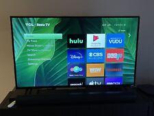 TCL 55 inch 4K UHD HDR Roku LED Smart TV- 55S425