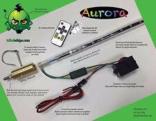 4 ft. Aurora Multi-Color ATV & UTV LED Whip, Single Mount, RZR, Commander, Rhino