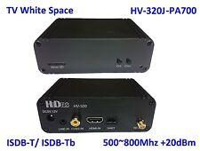 HV-320J-PA700 FPV/TVWS FullHD Video Tx 100~2500Mhz, HDMI/CVBS to ISDB-T/-Tb