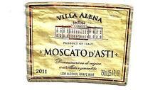 Moscato D Asti Villa Alena 2011 Wine Bottle Labels