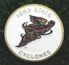 "RARE_Vintage_  IOWA STATE CYCLONES   1"" Golf Ball Marker"