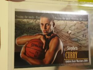 2009 Panini Sticker Steph Stephen Curry Rc Rookie Straight From Pack
