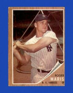 1962 Topps Set Break # 1 Roger Maris VG-VGEX *GMCARDS*