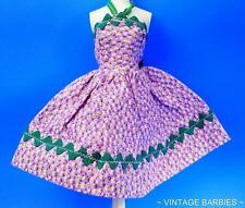 Barbie Doll Sized Purple Dress Mint Condition ~ Vintage 1960's