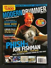 Modern Drummer Magazine September 2010  Phish's Jon Fishman