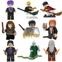 Harry Potter Custom Lego Mini Figures Building Dumbledore Snape Hogwarts Wizard
