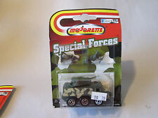 Majorette Special Forces Military Army Tank Vehicle w/ Infantry Soldiers #2205