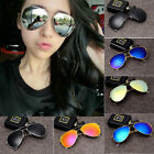 Aviator Retro Vintage Color Mirror Sunglasses Fish Drive Anti Glare Sport Men