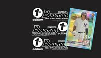 GROUP BREAK- 2020 BOWMAN BASEBALL FIRST (1st) EDITION HOBBY BOX- 1 Random Team