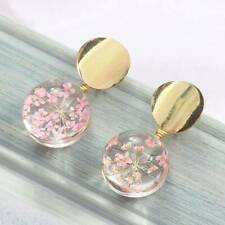 Korean fashion temperament wild sequins glass ball earrings fashion women Chic