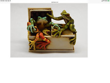 Neil Eyre Designs Halloween Dart Colorful Tree frogs frog coffin casket Limited