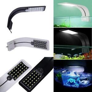 220-240V Slim Aquarium Fish Tank LED Light Aquatic Plant Clip-on Lamp