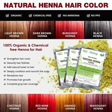 Natural Henna Color 100% Organic Pure Henna HAIR DYE Allin Exporters chose color