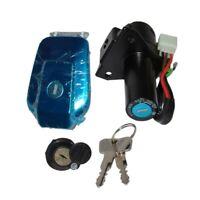 Kit Serrure de contact Selle Reservoir 2 clés Pour Yamaha YBR125 YBR 125