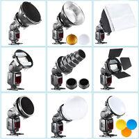 SGA-K9 flash Accessories Kit (Barndoor/Snoot/Softbox/Honeycomb/Diffuser) EM#01