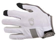 Pearl Izumi Elite Gel Full Finger Bike Cycling Gloves White - Large
