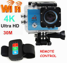 New Ultra HD 2'' Pro WIFI Action Sports Helmet Camera Recorder Go Kart + Remote