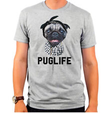 New Authentic Goodie Two Sleeves Puglife Pug Life Dog T-shirt Soft SMALL top