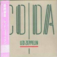 "Led Zeppelin ""Coda"" Japan Limited Mini-LP SHM-CD Paper Sleeve w/OBI"