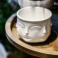 Creative Design Multi Face Planter Nordic Ceramic 3D Decoration Pot Flower X9U2