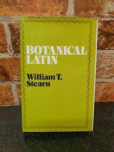 Botanical Latin William T Stearn Book Hardback