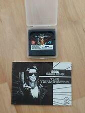 SEGA Game Gear - The Terminator - Modul, Plastikhülle u. Anleitung