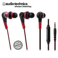 Audio Technica ath-cks770is Rouge Casque In-Ear Headphone Earphone nombreux accessoires