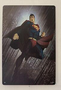 Superman Blechschild 30cm x 20cm Superheld DC Comics Retro Vintage Nostalgie