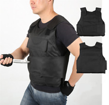 More details for anti stab vest stabproof anti-knifed security defense body armour men vest bk