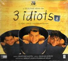 3 IDIOTS - A VIDHU VINOD CHOPRA - BRAND NEW CD - FREE UK POST