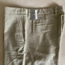 "ASHWORTH Londonfog Khaki Men's Corduroy Pants 42 x 33"" NWT $70"