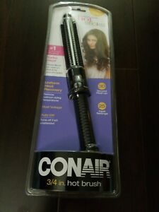 Conair Instant Heat Hot Brush 3/4 in. NEW