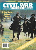 Civil War Times Jan.1989 Cedar Creek Virginia Petersburg Andersonville Georgia