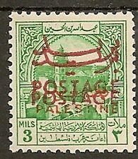JORDAN 1953 OBLIGATORY TAX DOUBLE POSTAGE OVPT SG396b MNH UNPRICED!