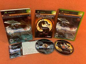 Mortal Kombat Deception Kollector's Raiden Edition Original XBOX Game Complete