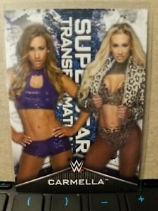 2020 Topps WWE Women's Division Superstar Transformations Carmella #5